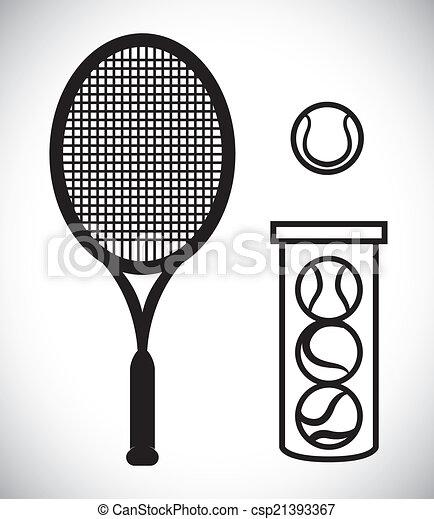 tennis design - csp21393367
