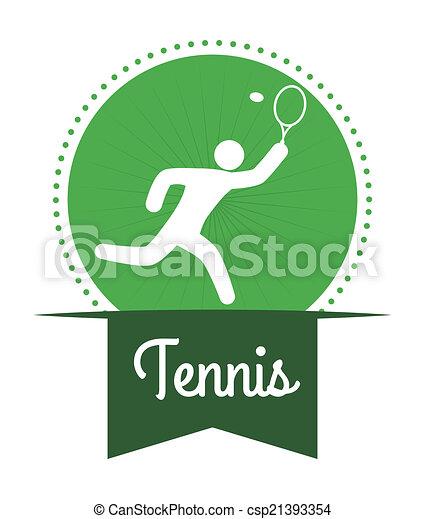 tennis design - csp21393354