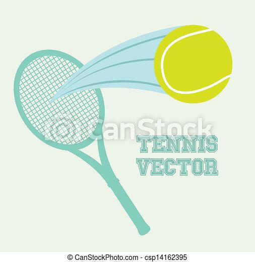 tennis design - csp14162395