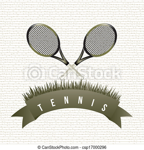 tennis design - csp17000296