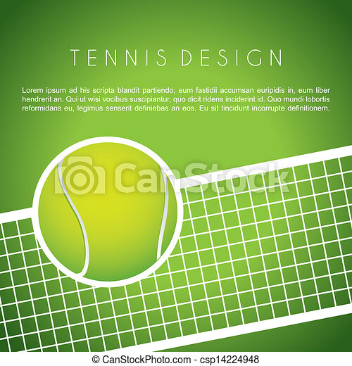 tennis design - csp14224948