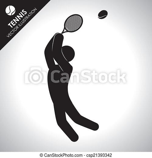 tennis design - csp21393342