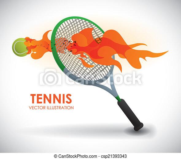 tennis design - csp21393343