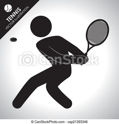 tennis design - csp21393346