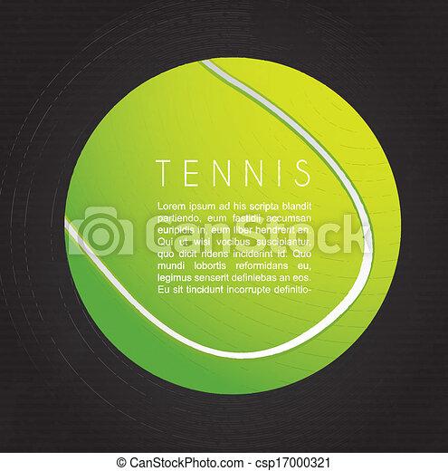 tennis design - csp17000321