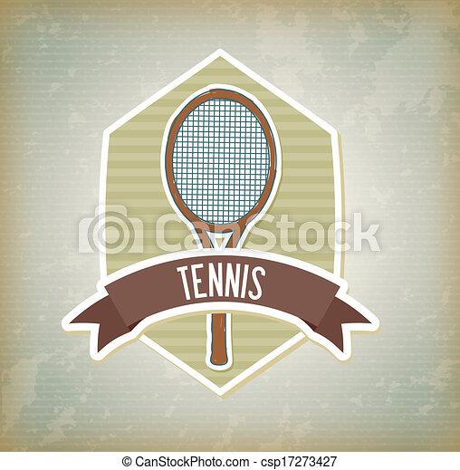 tennis design - csp17273427