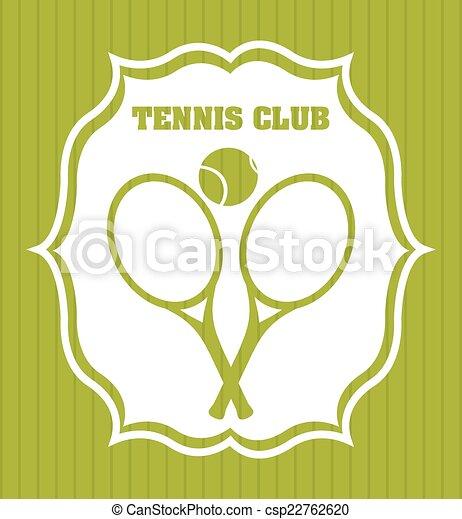 tennis design - csp22762620