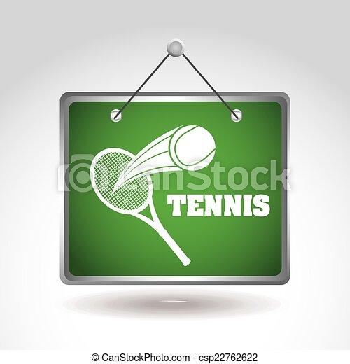 tennis design - csp22762622