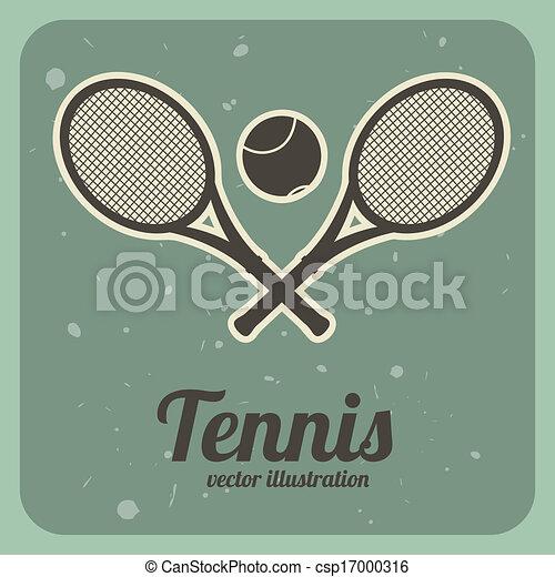 tennis design - csp17000316