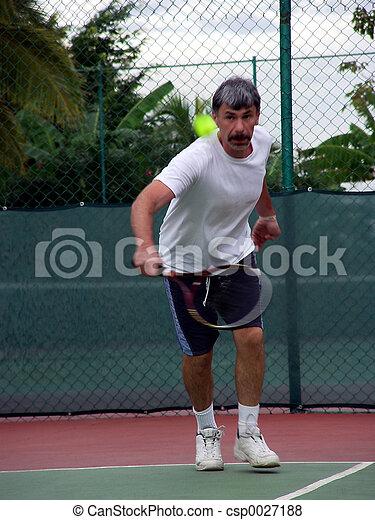 Tennis player - csp0027188
