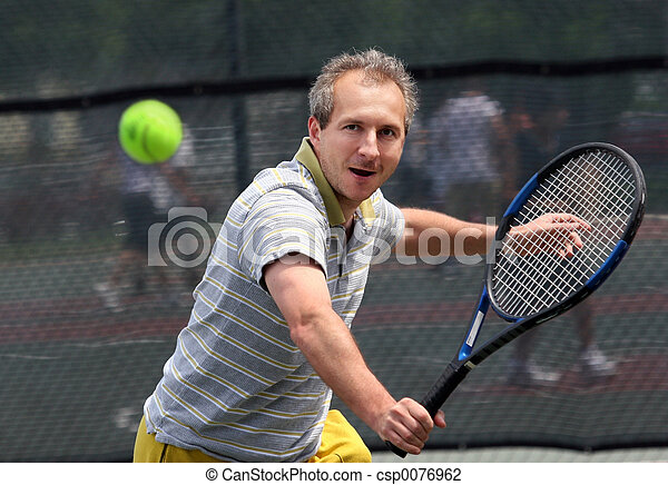 Tennis player - csp0076962