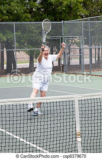 Tennis Player - Winning - csp6379670