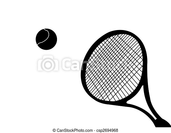 Tennis racket - csp2694968