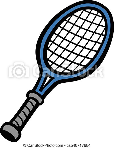 tennis racquet vector search clip art illustration drawings and rh canstockphoto ca tennis racquet clipart png crossed tennis racquets clipart