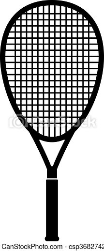 Tennis Racquet Shade Picture