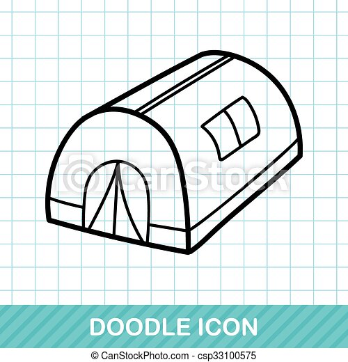 Tent Doodle Vector  sc 1 st  Can Stock Photo & Tent doodle vectors illustration - Search Clipart Drawings and ...