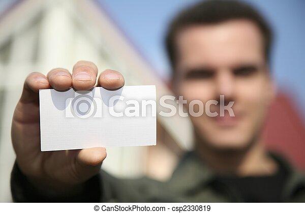 tenue, carte, homme - csp2330819