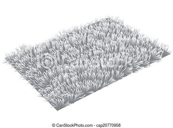 Teppich clipart  Clipart Vektor von teppich - rug., graue , freigestellt ...