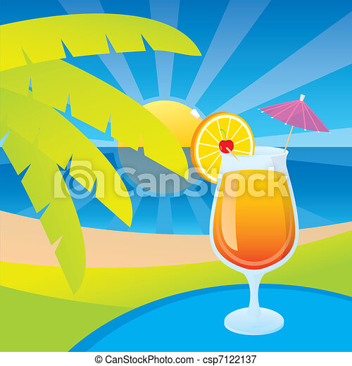 Tequila sunrise - csp7122137
