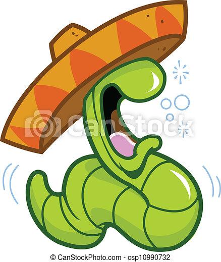 Tequila Worm - csp10990732