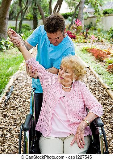 terapia, artrite, -, físico - csp1227545