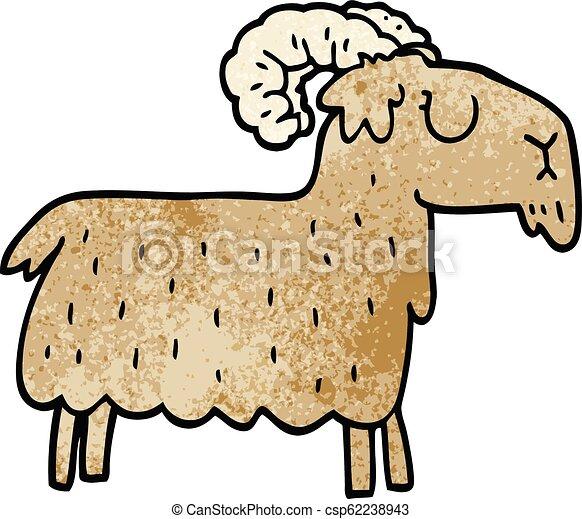 Una cabra testaruda - csp62238943
