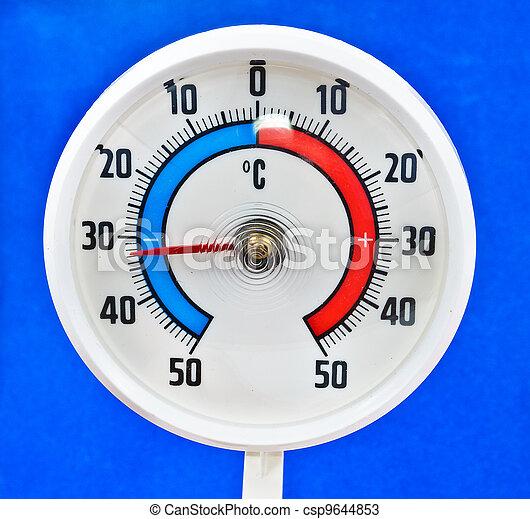 termómetro al aire libre - csp9644853