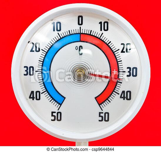 termómetro al aire libre - csp9644844