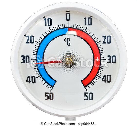 termómetro al aire libre - csp9644864