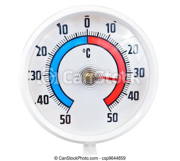 termómetro al aire libre - csp9644859