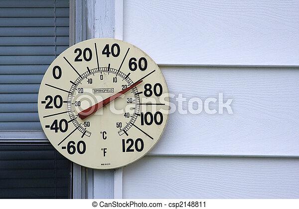 termómetro al aire libre - csp2148811