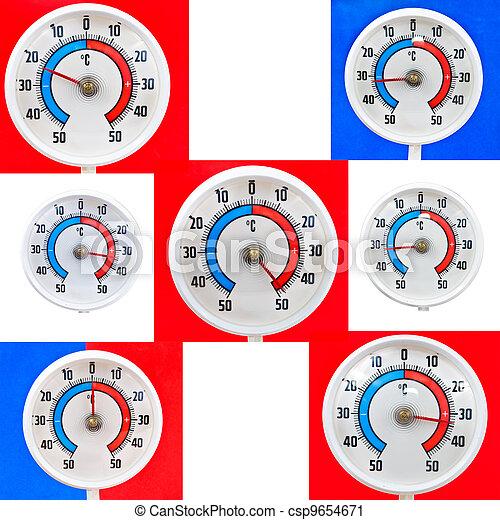 termómetro al aire libre - csp9654671
