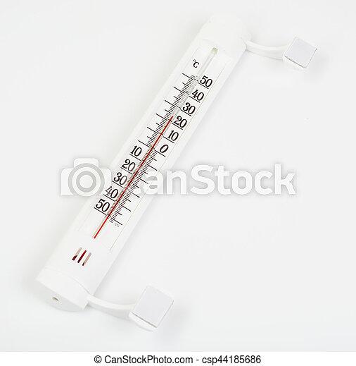 termómetro al aire libre - csp44185686