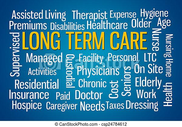 termijn, lang, care - csp24784612