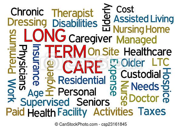 termijn, lang, care - csp23161845