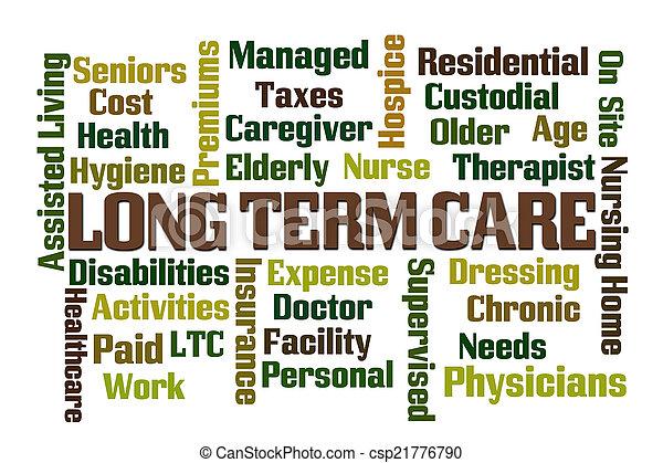 termijn, lang, care - csp21776790