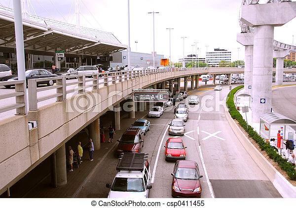 terminal, aéroport - csp0411455