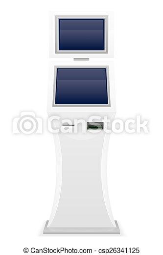 terminal for receiving cash payment - csp26341125