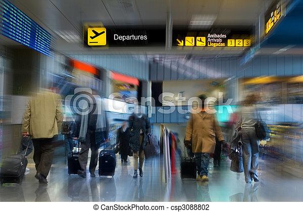 terminale, aeroporto - csp3088802