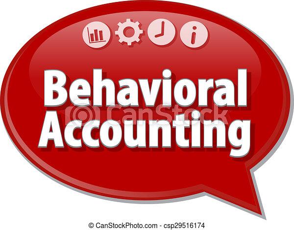 termo, ilustração negócio, fala, behavioral, contabilidade, bolha - csp29516174