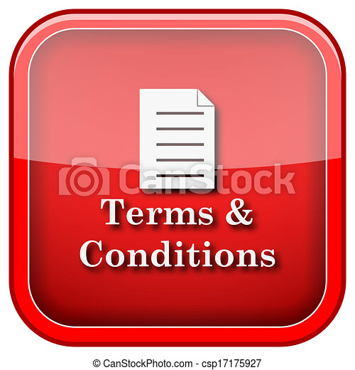 Terms and conditions icon - csp17175927