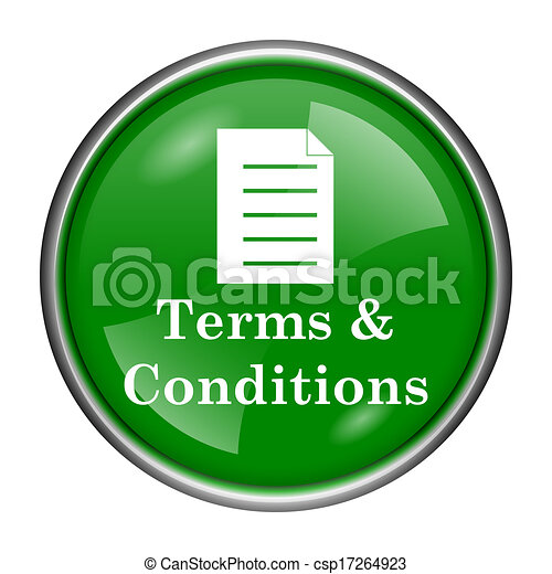 Terms and conditions icon - csp17264923