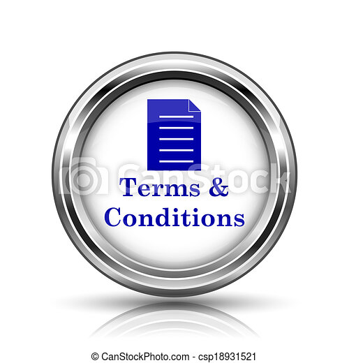 Terms and conditions icon - csp18931521