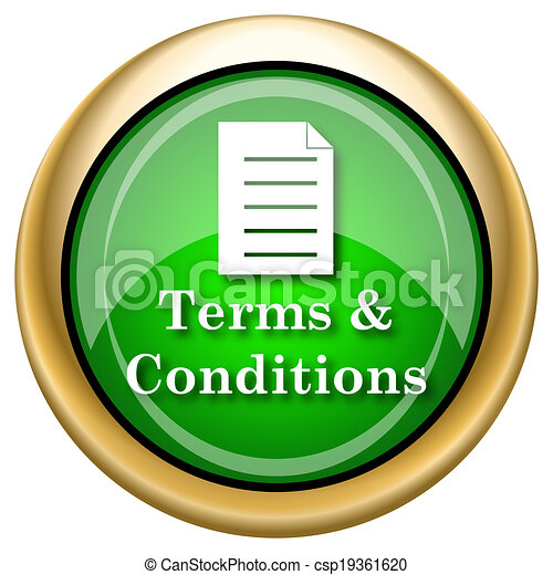Terms and conditions icon - csp19361620