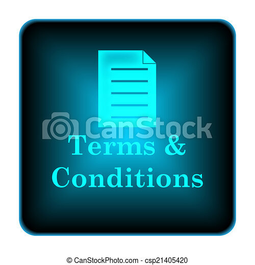 Terms and conditions icon - csp21405420