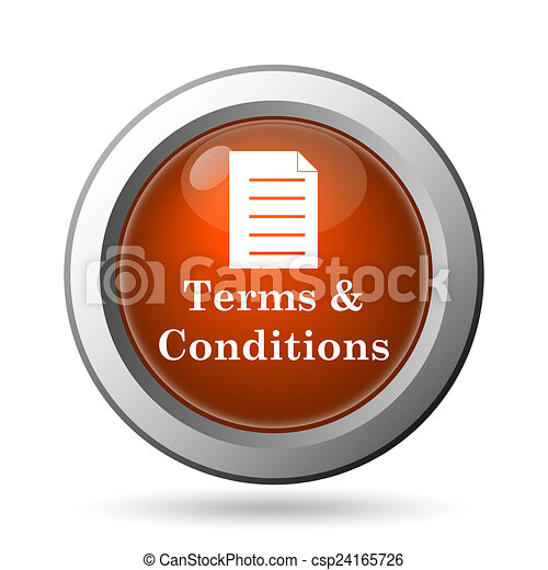 Terms and conditions icon - csp24165726