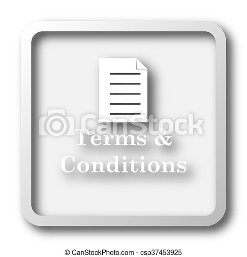 Terms and conditions icon - csp37453925