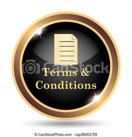 Terms and conditions icon - csp38453728