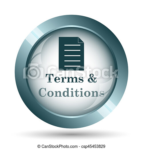 Terms and conditions icon - csp45453829