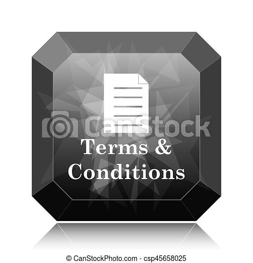 Terms and conditions icon - csp45658025